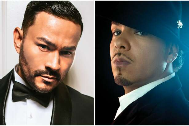 Frankie J, left and Baby Bash have frequently collaborated.