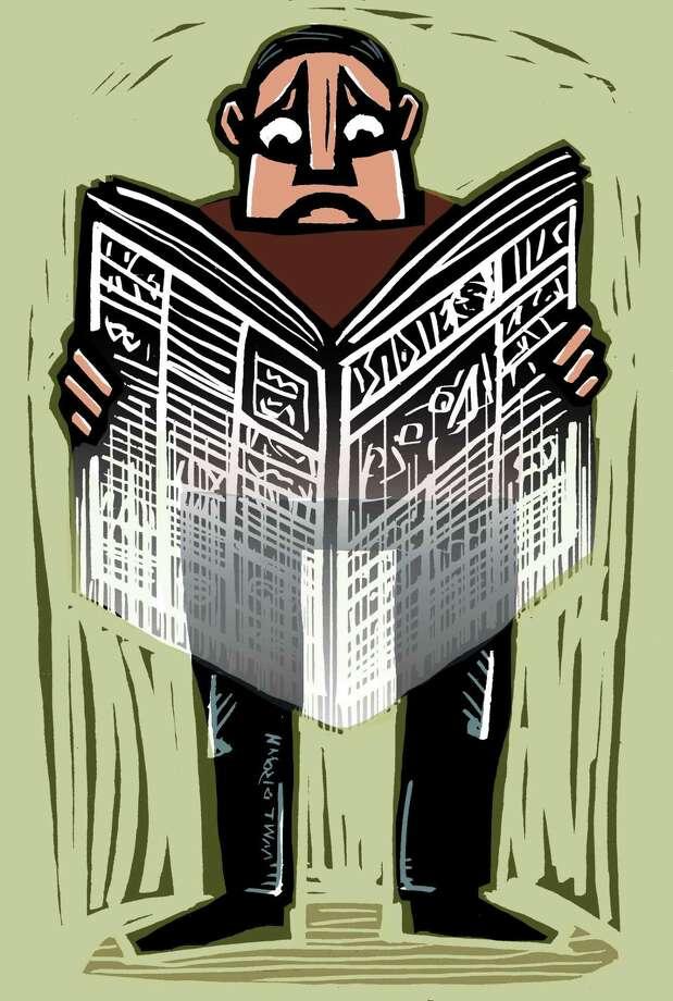 Illustration about journalism. Photo: William Brown
