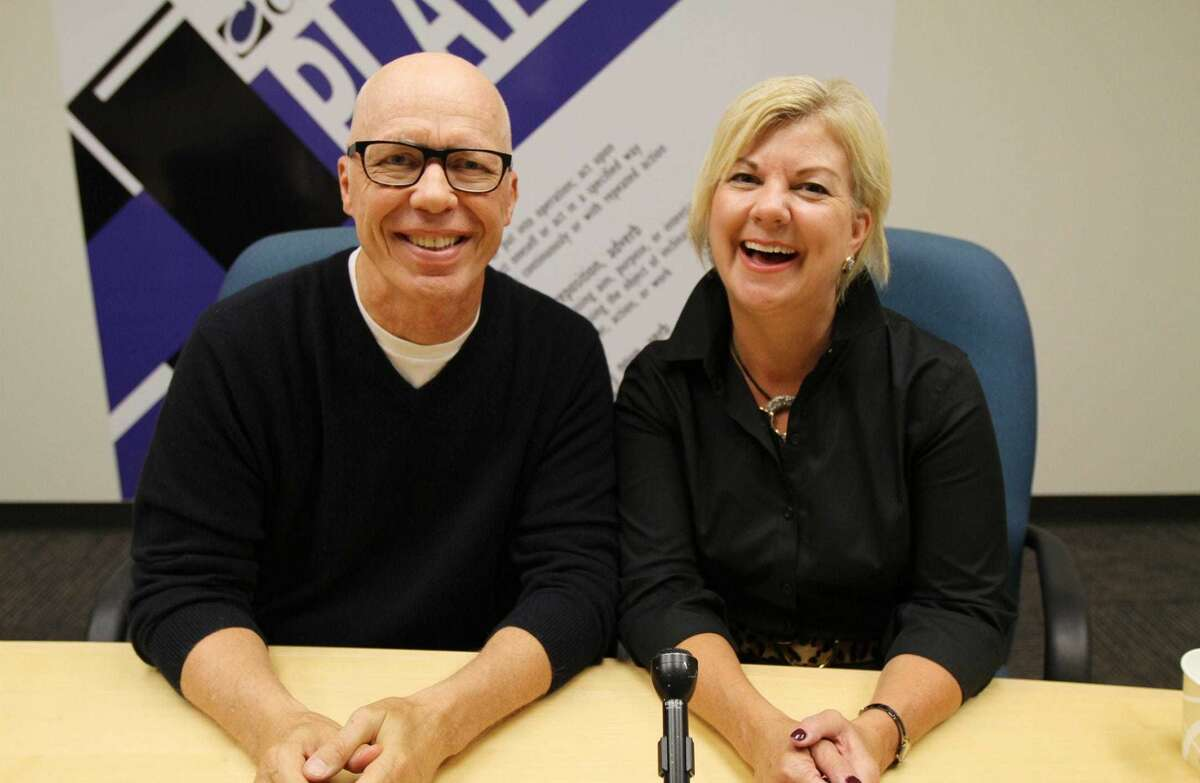 Kimberly Ray and Barry Beck of Rochester Radio 95.1's