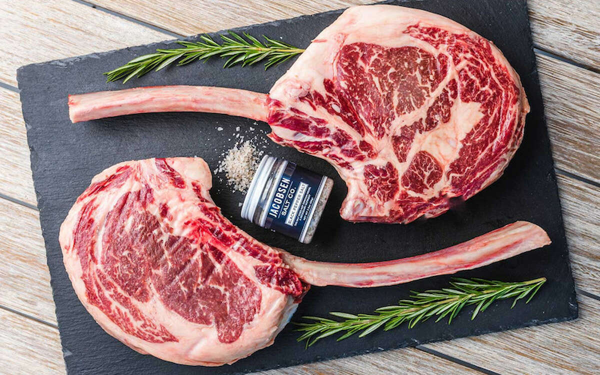 Snake River Farms Give your dad a Facebook post-worthy American Wagyu Tomahawk Steak. Dad use Facebook, right? You can browse Snake River Farm's Father's Day selection and get 15% off orders of $129 or more when you use promo code DADDAY20.
