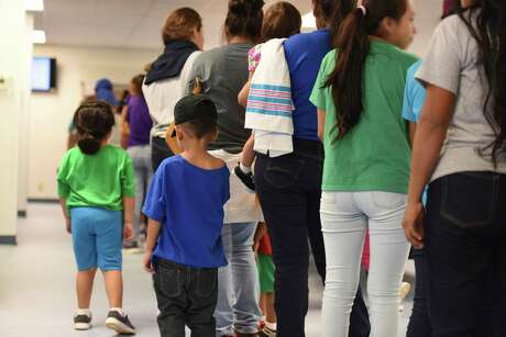 The South Texas Residential Center in Dilley is the largest of three immigrant family detention centers in the country. Immigration officials recently asked mothers to sign a form at the facility that would allow their children to be separated from them.