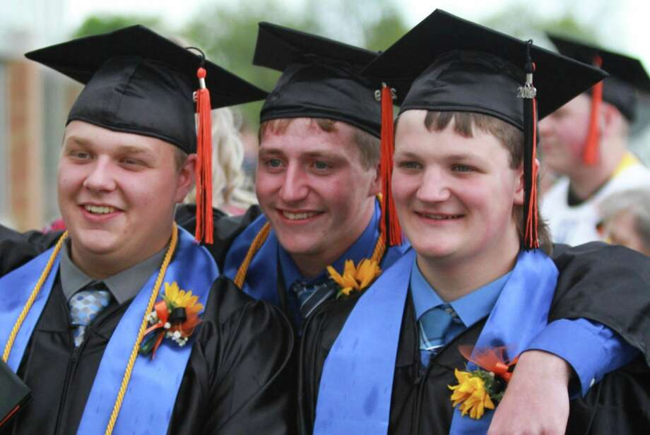 After surveying graduating seniors, Harbor Beach Community Schools has scheduled its commencement ceremony for Sunday, July 26. The ceremony will take place at 1 p.m. in the high school gymnasium. (Tribune File Photo)