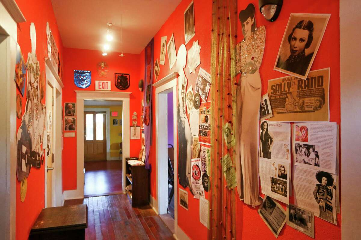 A hallway in the Esperanza Peace & Justice Center's Casa De Cuentos (House of Stories) building at Rinconcito de Esperanza, 816 S. Colorao St., in 2017. The house is one of 11 structures to be included in a proposed Rinconcito de Esperanza Historic District on the near West Side.