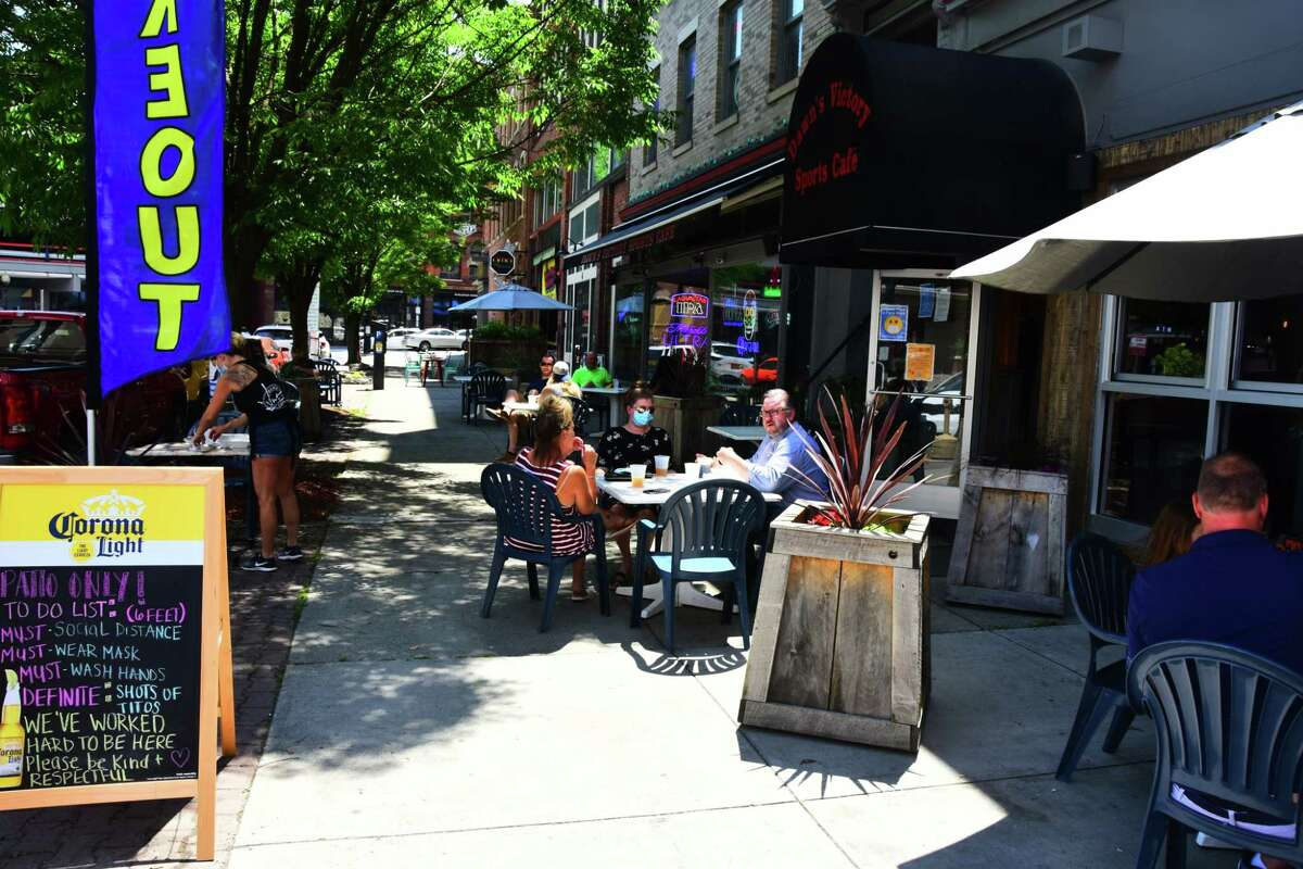 Albany, Saratoga and Schenectady counties are competing during the month of June 2021 to see in which county's restaurant diners tip the most. (Steve Barnes/Times Union)