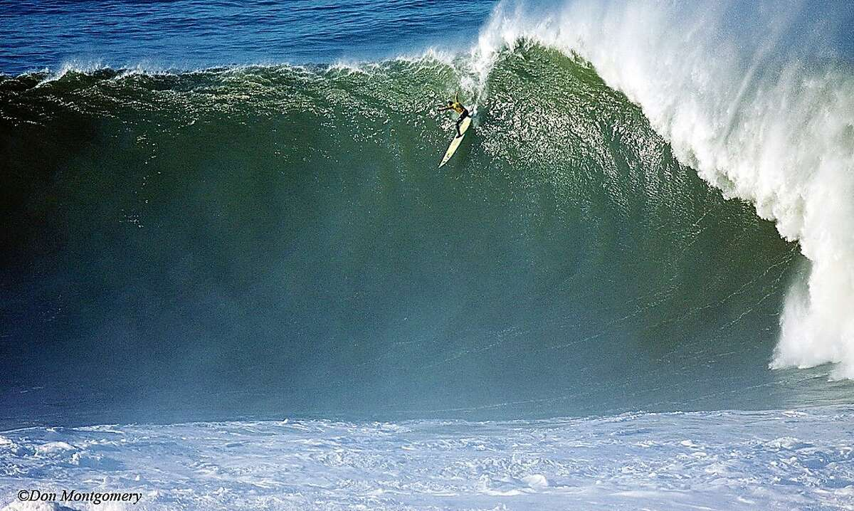 Eric Nelson, a resident of Montara, puts the 2010 Mavericks surf competition at the top of his favorite sports moments.