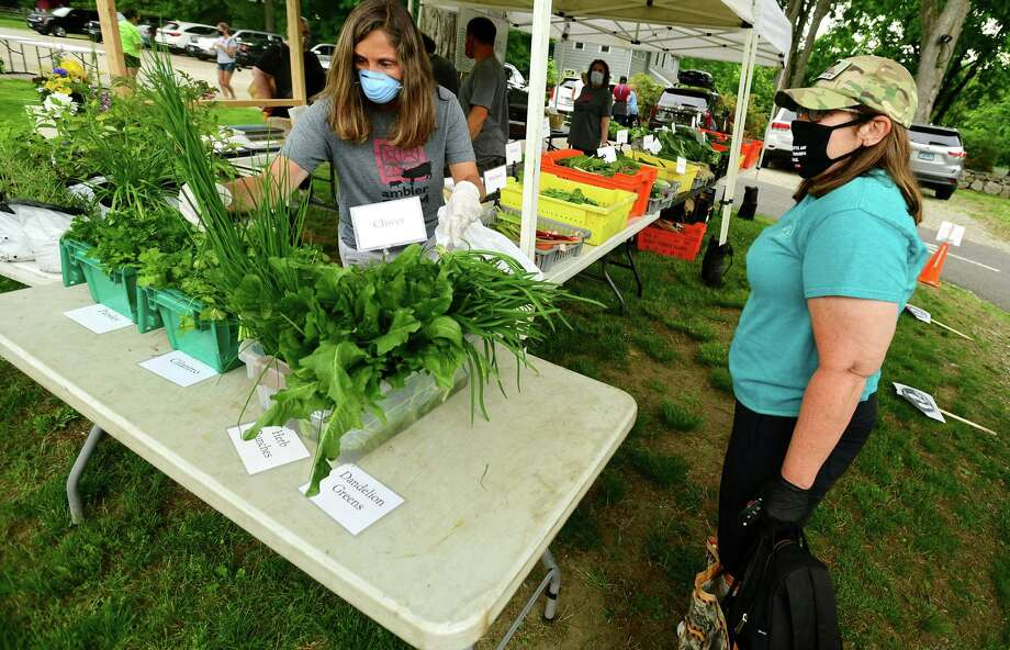 The Wilton Farmers Market is open each Wednesday from noon to 5 on the grounds of the Wilton Historical Society, 224 Danbury Road. Photo: Erik Trautmann / Hearst Connecticut Media / Norwalk Hour