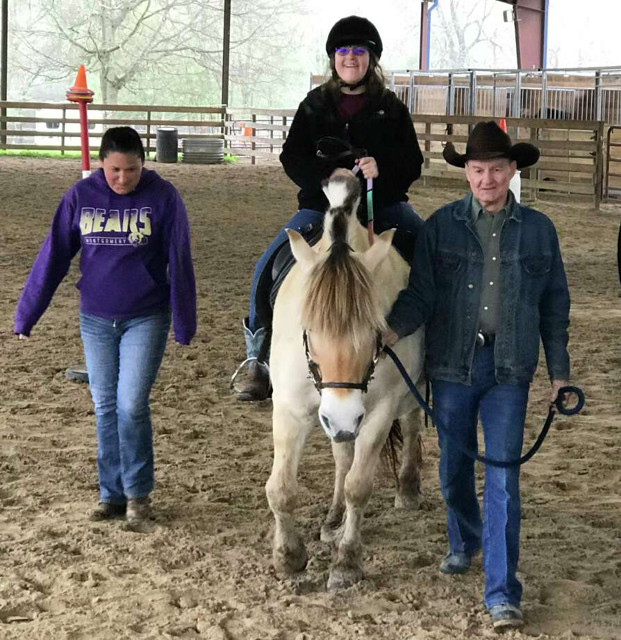 With SIRE in Spring starting up again June 9th with an abbreviated six-week riding program, Ladana Igler (left) said her daughter Lauren Igler (center) is ecstatic because she gets to go ride with her equine friends. Photo: Ladana Igler