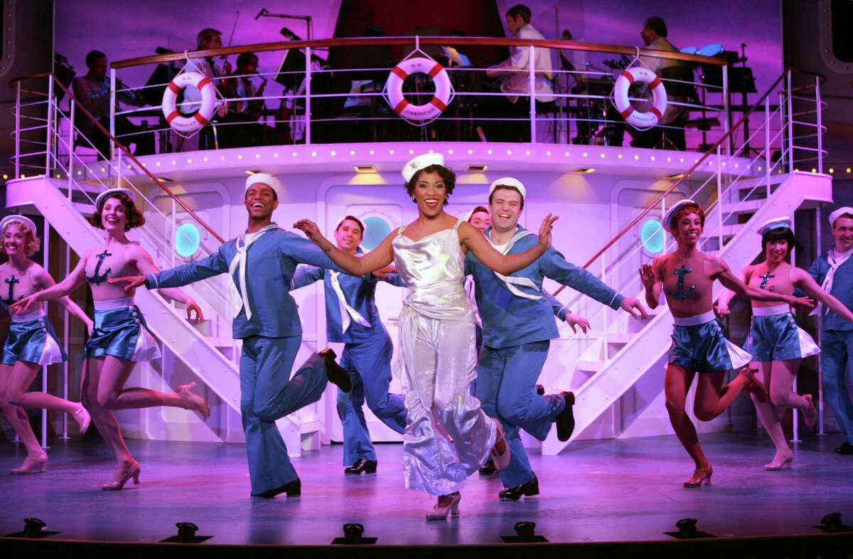 """Goodspeed Musicals' production of """"Anything Goes"""" will be featured on its """"Greatspeed"""" program, June 16. Producer Donna Lynn Hilton says her guest will be Kelli Barclays, who choreographed the show."""