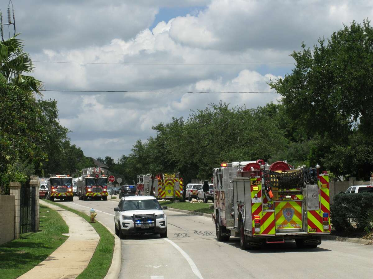 Hazmat units with the San Antonio Fire Department have responded to a possible chemical situation on the far North Side Thursday, June 4, 2020. Multiple residences have been evacuated.