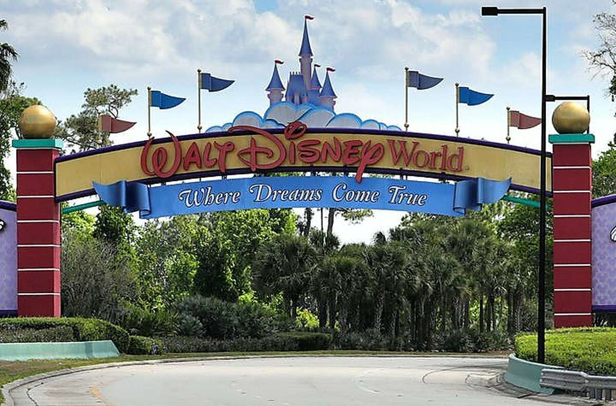 The NBA is looking at using the ESPN Wide World of Sports Complex at Disney World as a possible venue to complete the season if conditions permit during the pandemic. (Joe Burbank/Orlando Sentinel/TNS)