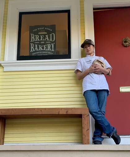 The Right Dough, owned by Jackie Lee, is an artisan breadmaking business in Oakland specializing in flavorful whole-grain German-style breads.