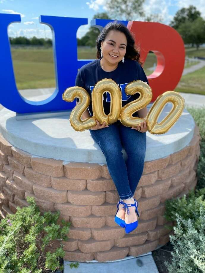 Cynthia Andrade is a 2020 graduate of the University of Houston-Downtown. Photo: Courtesy Of The University Of Houston-Downtown