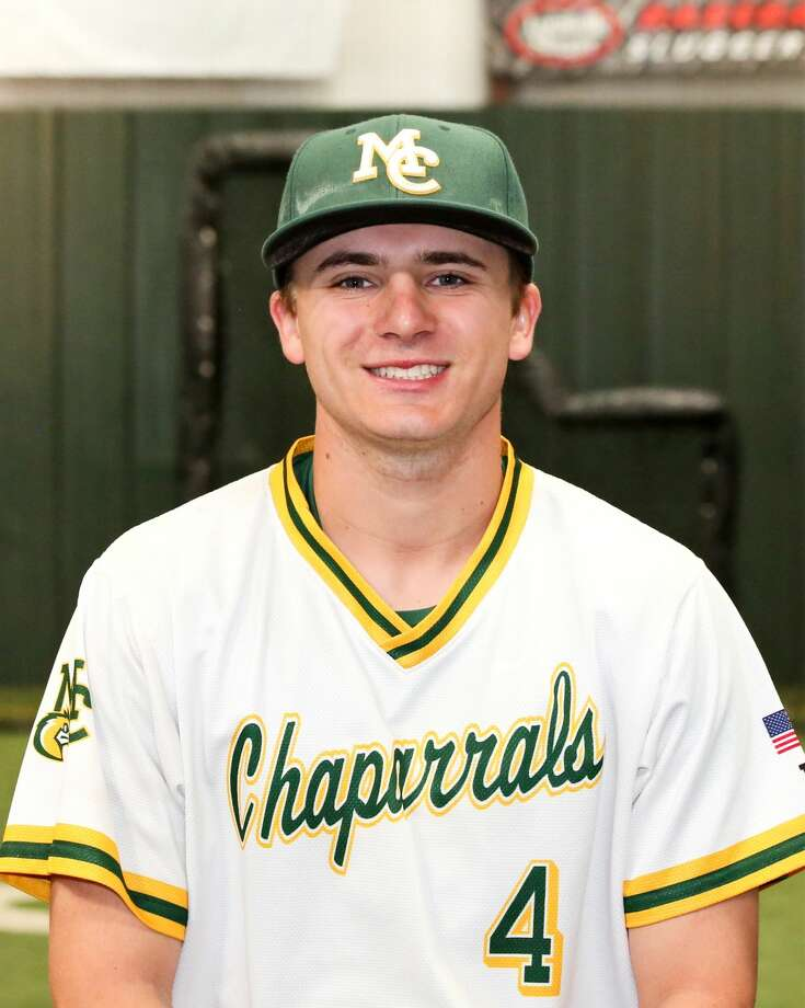 Midland College baseball player Cooper Jauz Photo: Forrest Allen, MC Athletics