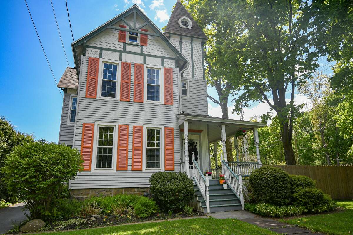 A three-story Victorian home in Menands with four bedrooms and two bathrooms. Contact listing agent Johanna Clarke of Field Realty at 518-859-4947. https://realestate.timesunion.com/listings/16-Brookside-Av-Colonie-NY-12204-MLS-202017775/40209921