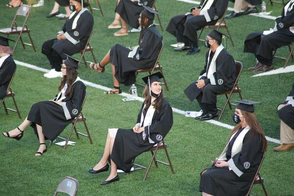 Shadow Creek High School held graduation at Alvin ISD Freedom Field Thursday, Jun. 4.