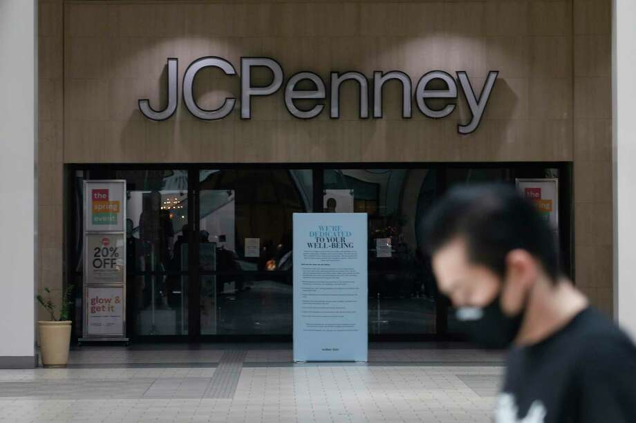 A JCPenney mall store in Sacramento, Calif., on May 29, 2020. On June 5, J.C. Penney announced plans to close 154 stores nationally, including a location at the Torrington Commons shopping center in Torrington, Conn., leaving it with a half-dozen stores in Connecticut. (AP Photo/Rich Pedroncelli) Photo: Rich Pedroncelli / Associated Press / Copyright 2020 The Associated Press. All rights reserved
