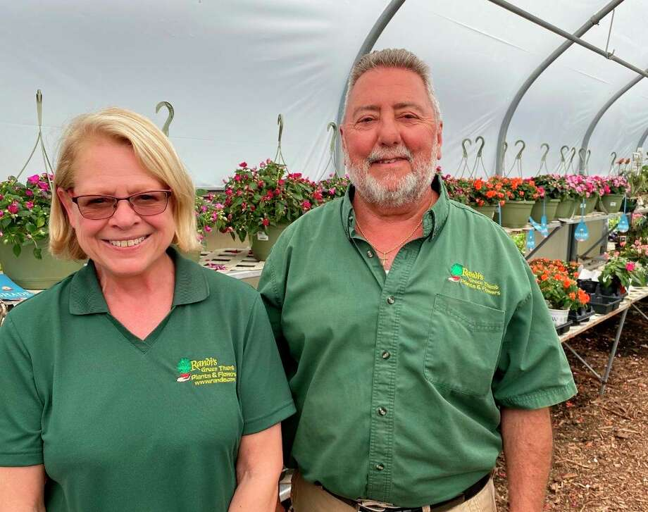 Pictured are Randi and Randy Paquet, of Randi's Green Thumb Service. (Photo provided)