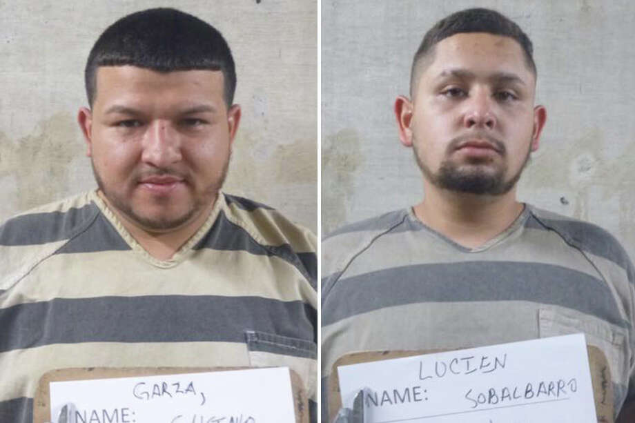 Two suspected drug dealers were arrested following a traffic stop, according to Webb County Sheriff Martin Cuellar. Photo: Courtesy