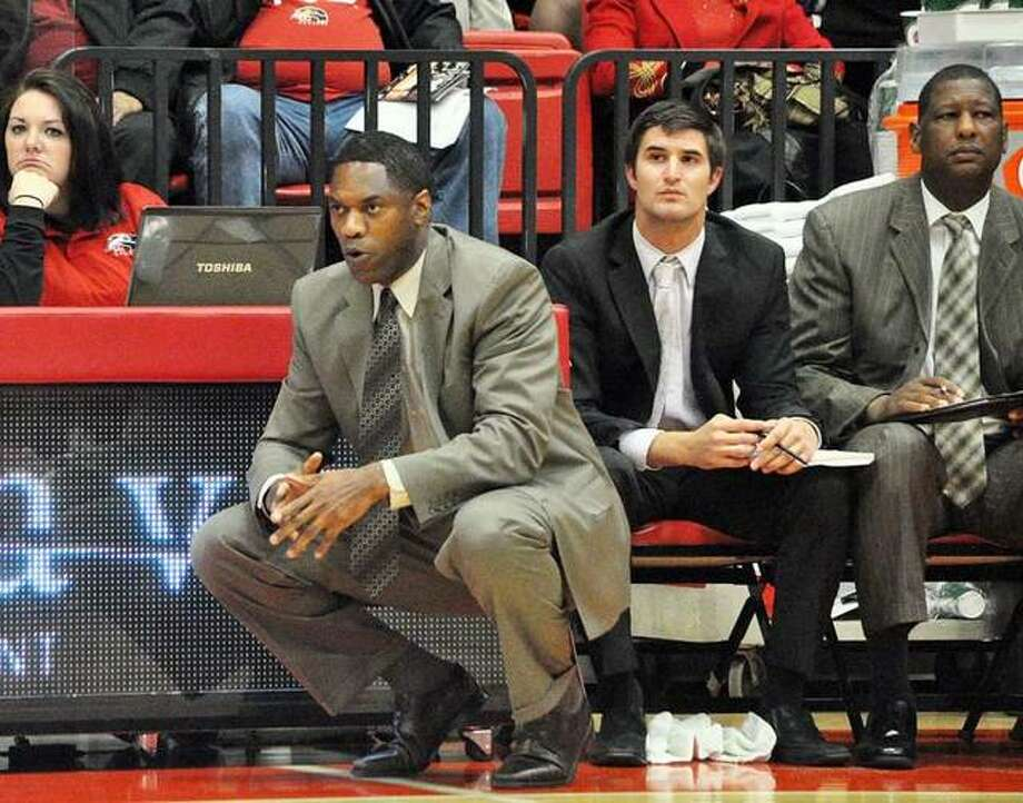 Lennox Forrester served as the men's basketball head coach at SIUE for eight seasons. He was the first Division I coach in program history. Photo: Matt Kamp|The Intelligencer