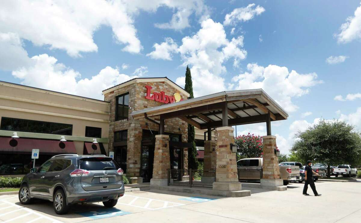 Exterior of Luby's at 9797 S. Post Oak, Thursday, June 4, 2020, in Houston.