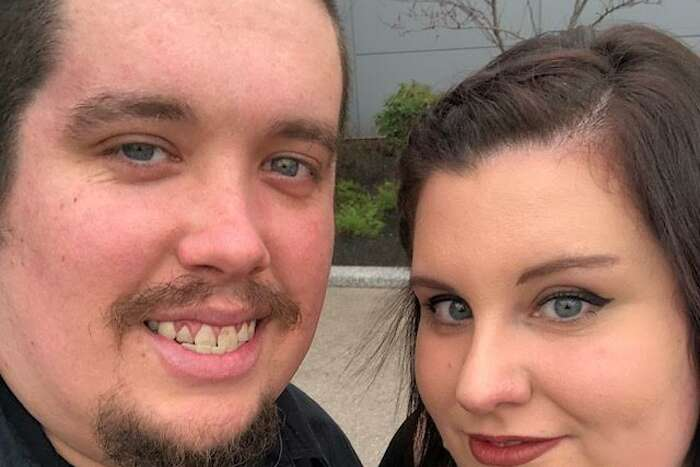 Dennis Bradt and his fiancee Angela Padula in an undated photograph. Bradt was 29 when he died from the coronavirus on May 13. He is the youngest resident of Albany County killed by the virus which as mostly spared younger people.
