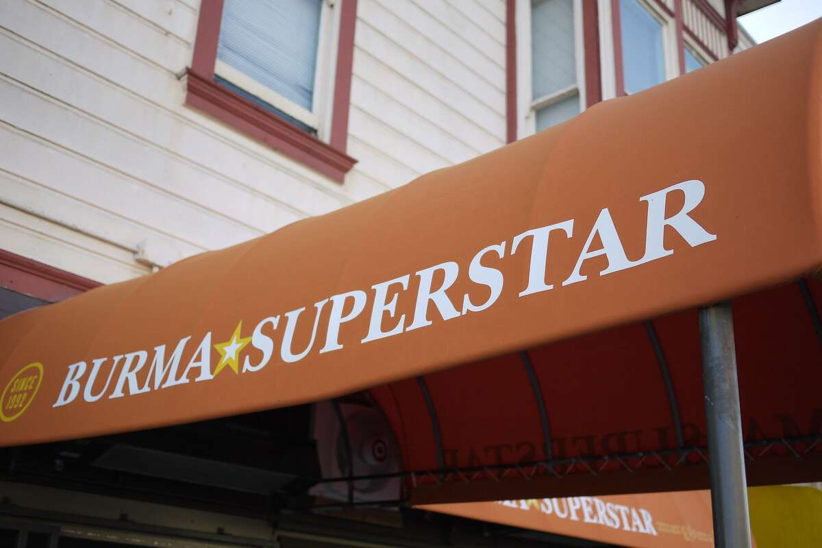 Burma Superstar located at 309 Clement St. in San Francisco.