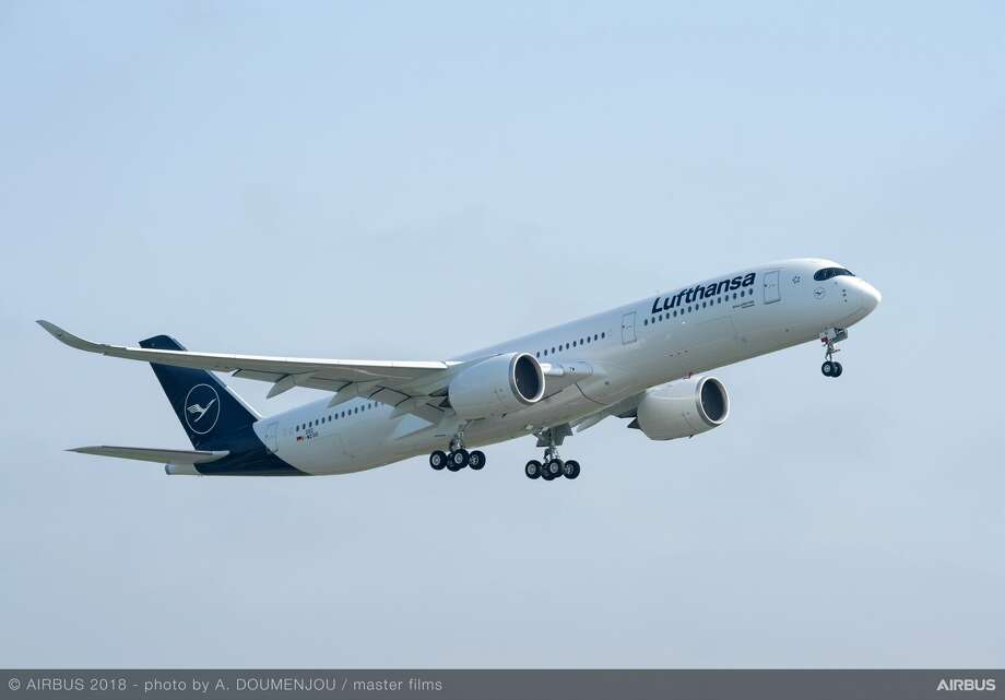 Lufthansa will use a new Airbus A350 on its 3x per week SFO-Munich flights starting later this month Photo: Airbus