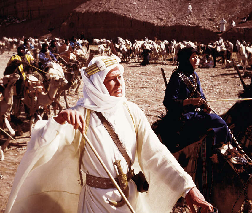 Lawrence of Arabia on TCM, 8 p.m.