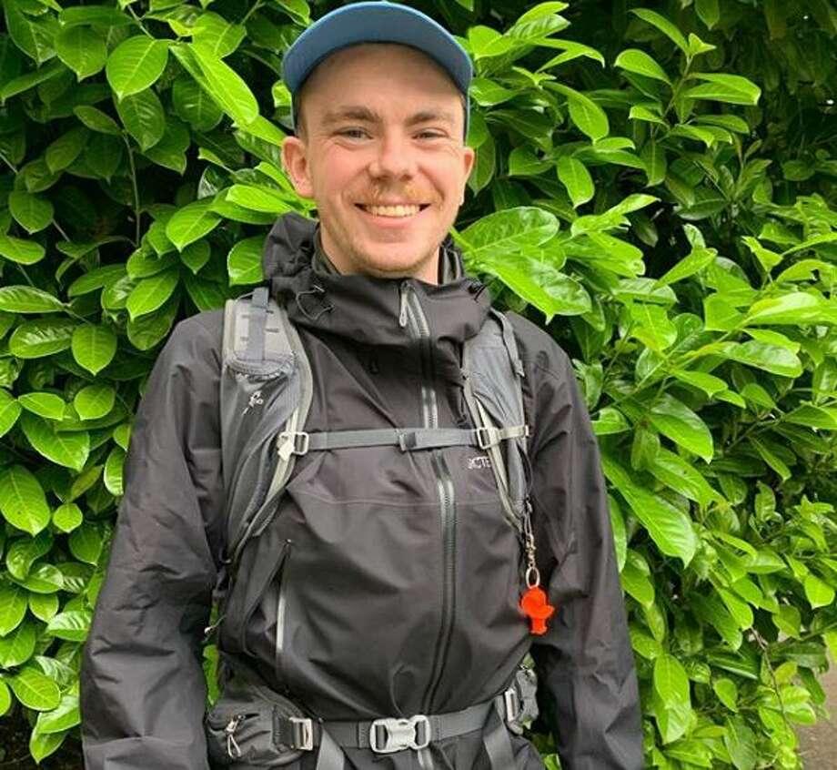 Thurston Weaver readies for a 350-mile trek across Washington state to raise money for the Washington Food Fund. Photo: Courtesy Thurston Weaver