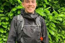 Thurston Weaver readies for a 350-mile trek across Washington to raise money for the Washington Food Fund.