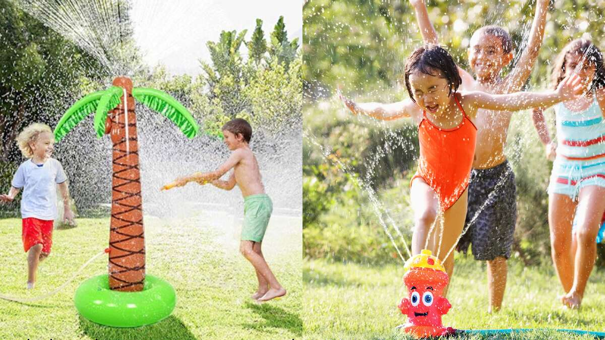 Summer 2020 is going to look a little different than we thought it would earlier this year. But that doesn't mean have to be a boring summer. You can make it extra fun for your children (and yourself) by buying one of these fun backyard sprinkler toys.