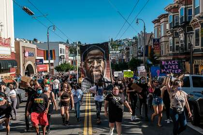 San Francisco health officials are bracing for a possible spike in virus cases after thousands marched in George Floyd protests.