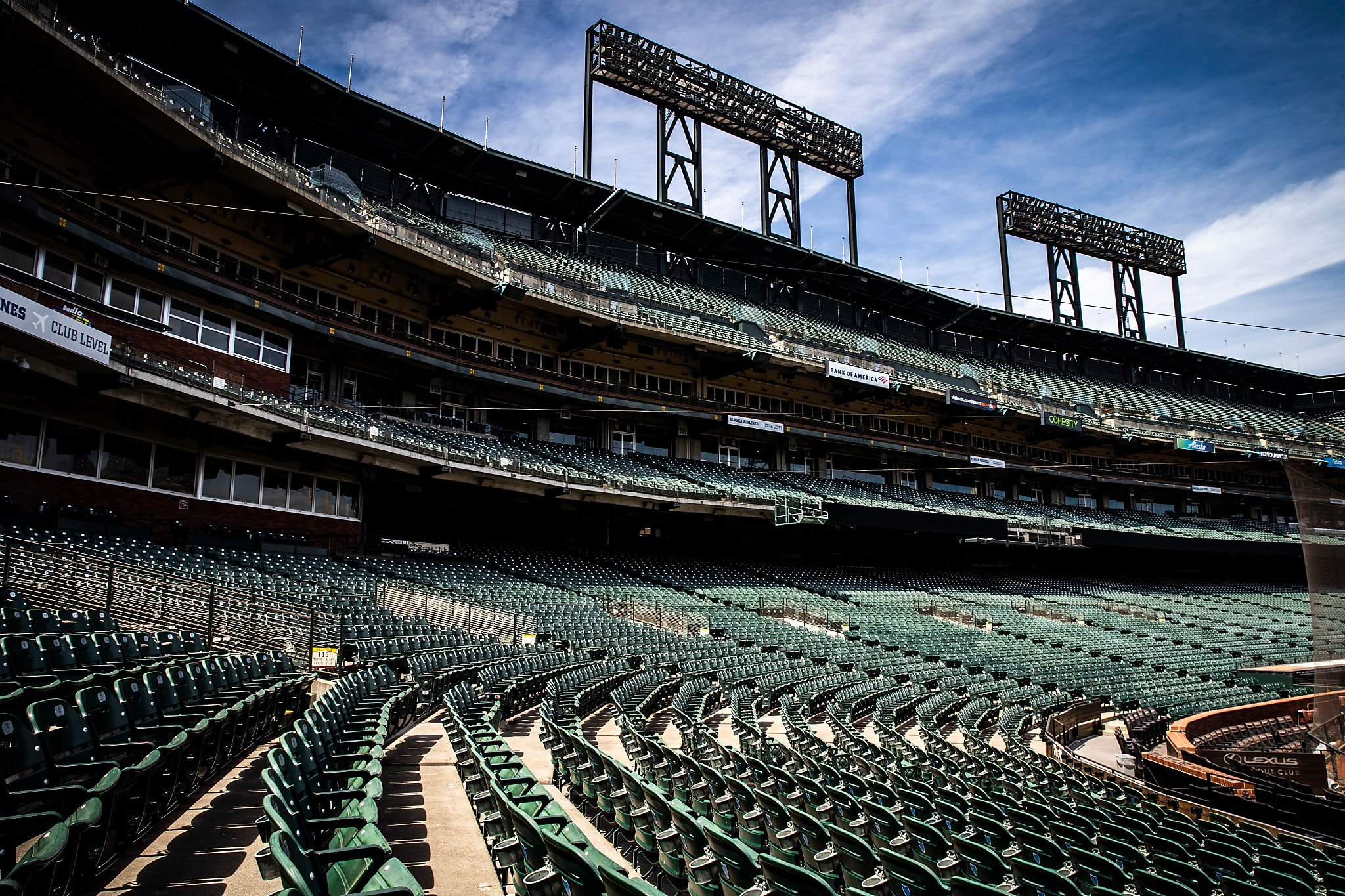 Giants plan to display cutout images of their fans at Oracle Park