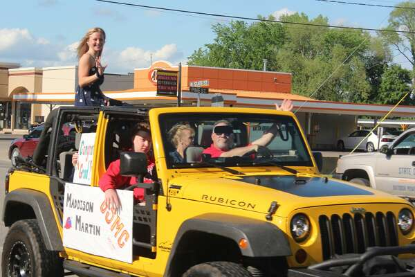 Students and their families paraded down Northland Drive on Friday for the Senior Cruise. During the event, onlookers cheered from the sidewalk as Class of 2020 seniors passed in decorated vehicles. Participating schools include Big Rapids High School and Virtual School, Crossroads Charter Academy, Reed City High School and Morley Stanwood High School.
