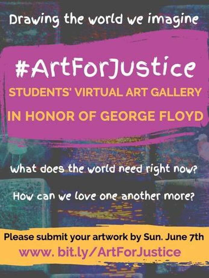 Fort Bend County officials recently launched a virtual student art gallery to honor the memory of George Floyd through artistic expression. Photo: Courtesy Fort Bend County