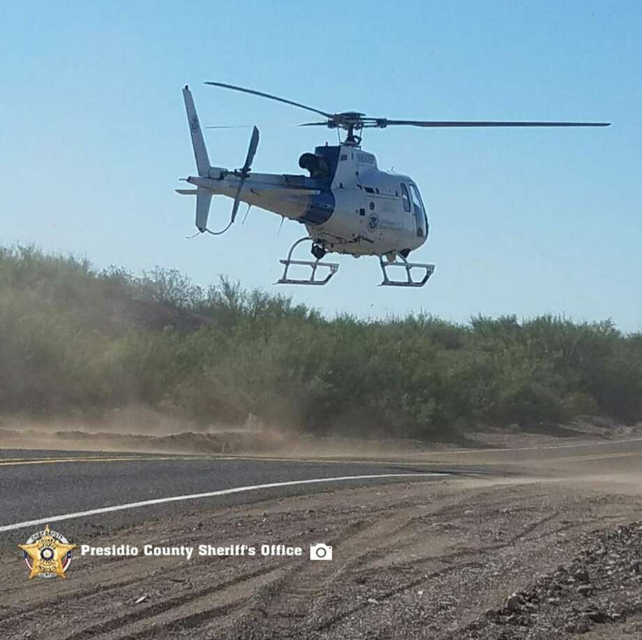Presidio County Sheriff's Deputies assisted U.S. Border Patrol search efforts for a missing person Friday morning, Photo: Courtesy Photo
