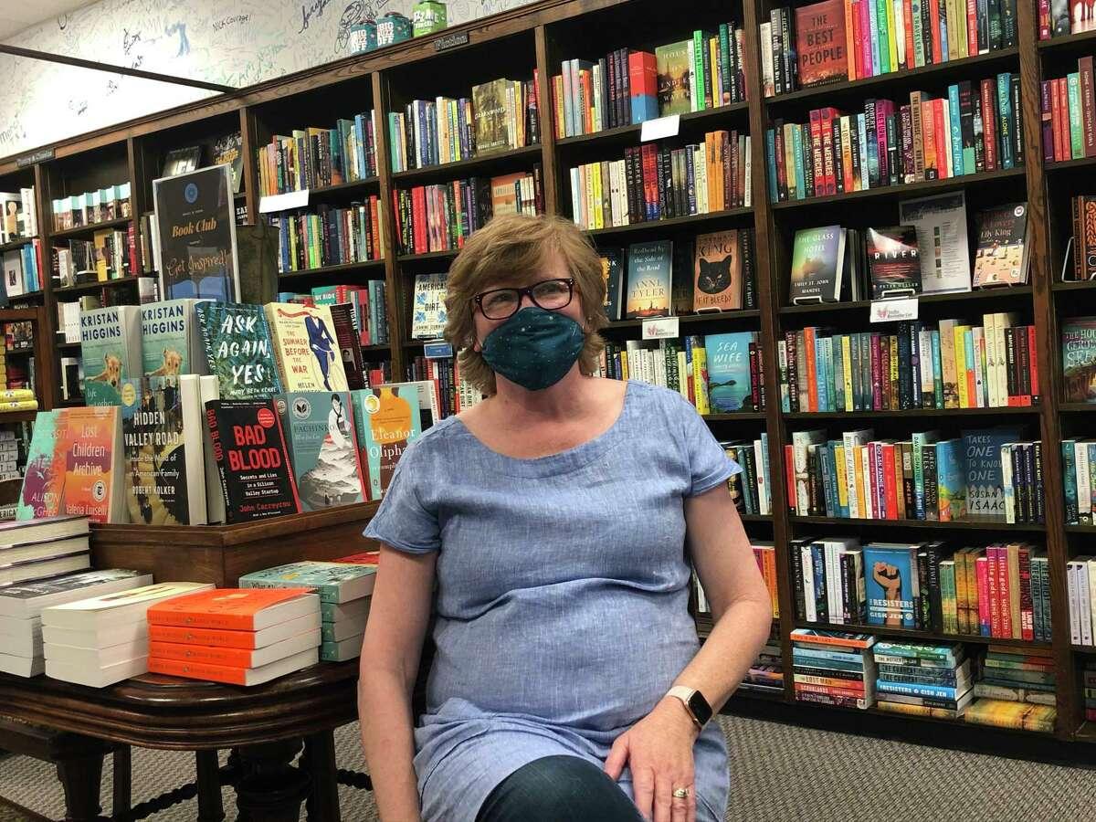 Valerie Koehler is the owner of Blue Willow Bookshop in Memorial.