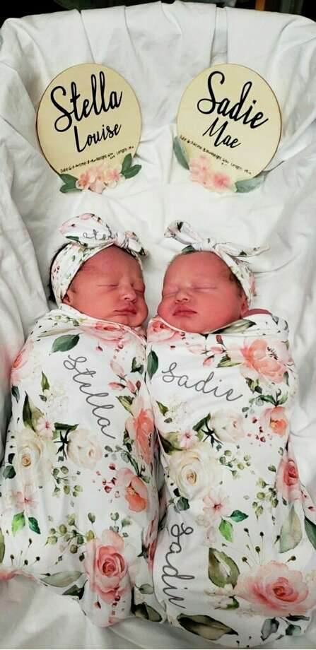 In the middle of a busy week, executive director, Sarah, welcomes two new granddaughters to their family. (Courtesy Photo)
