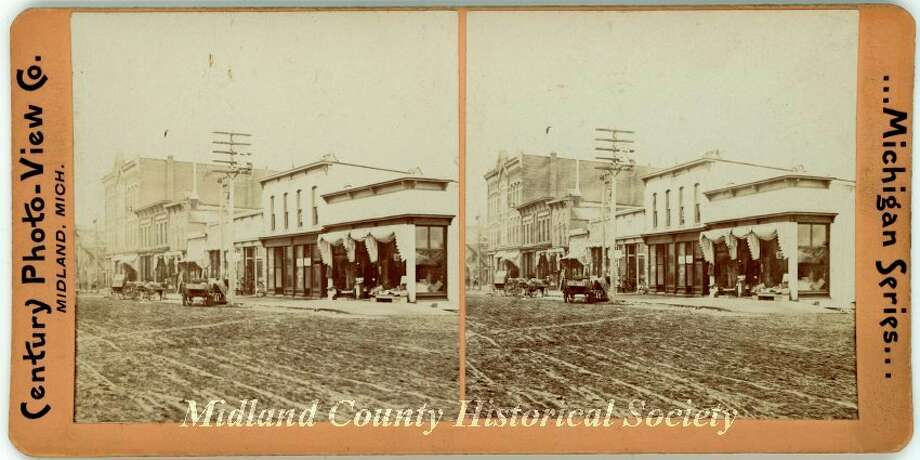 Oscar HouseHotel. (Midland County Historical Society)
