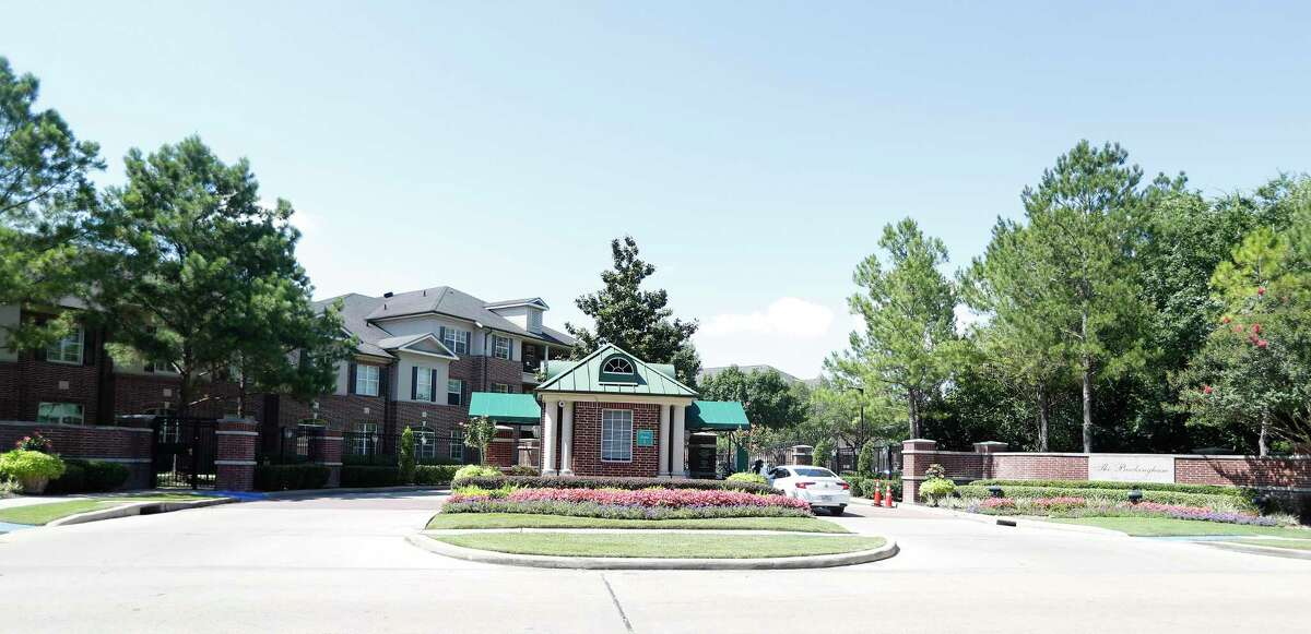 The Buckingham at 8580 Woodway, Friday, June 5, 2020, in Houston. The facility reported 20 cases of COVID-19 among residents and 17 among staff, according to a new federal data set.