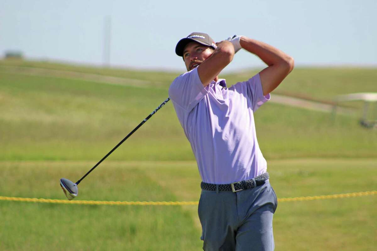 Cheshire's Eric Dietrich during the 36-hole U.S. Open golf sectional qualifier June 3, 2019 in Walla, Walla, Wash.
