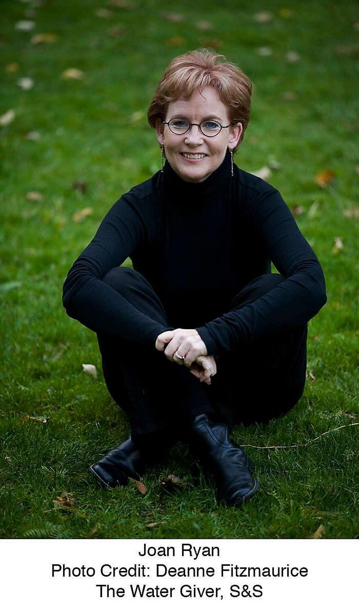 Author Joan Ryan.