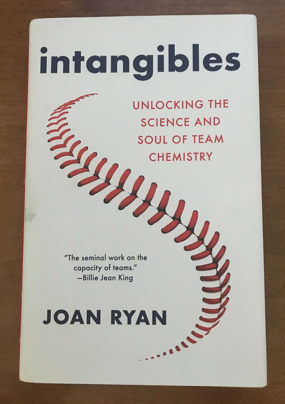 Joan Ryan, a former columnist for the San Francisco Chronicle who now works as a media consultant for the Giants, first considered a book on team chemistry when she attended the 20-year reunion of the 1989 Giants team that made it to the World Series.