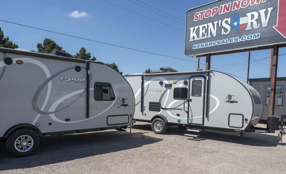 RV's, or recreational vehicles, of all sizes available at Ken's RV. 06/06/2020 Tim Fischer/Reporter-Telegram Photo: Tim Fischer/Midland Reporter-Telegram
