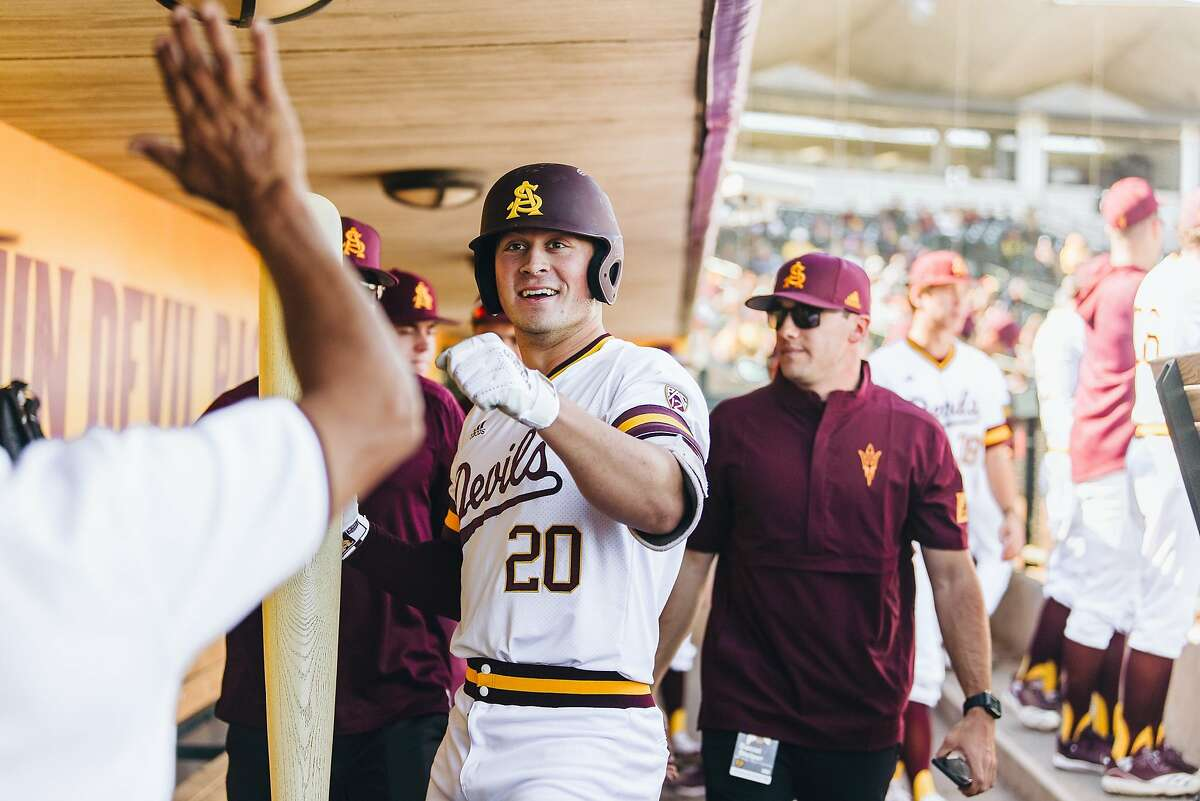 Arizona State first baseman Spencer Torkelson, a Petaluma native, is expected by most to be the No. 1 selection in Wednesday's MLB draft.