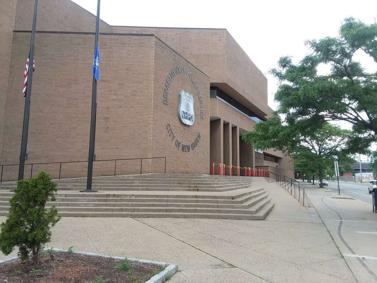 The New Haven Police Department on Union Avenue.