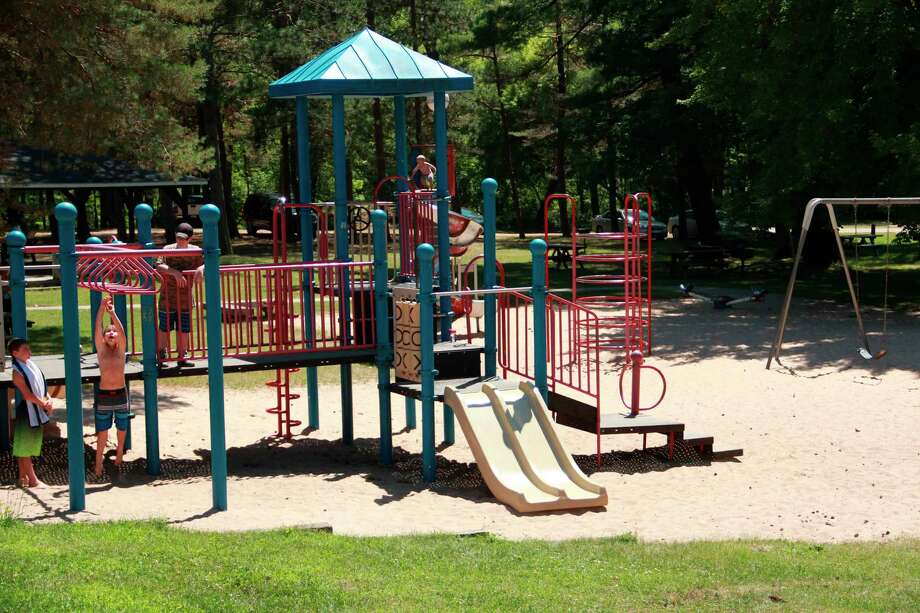 """Parks superintendent Jeff Abel said there will be signs posted by the playgrounds, letting guests know the playgrounds are """"use at your own risk,"""" as they will not be sanitized by park employees.(Pioneer file photo)"""