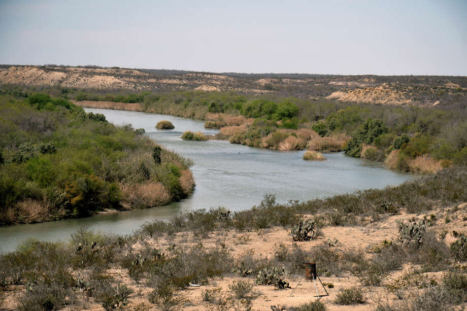 The Rio Grande and the rugged terrain as seen from a bluff on the historic Dolores Viejo in Zapata County. Photo: Cuate Santos/Laredo Morning Times