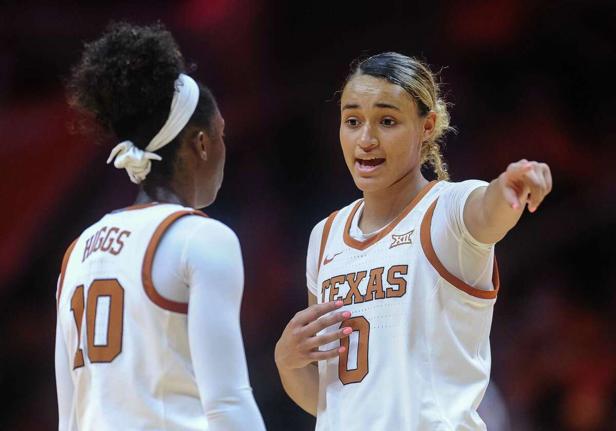 Texas guard Celeste Taylor, right, is working hard back home in New York to prepare for her second season with the Longhorns and her first with new coach Vic Schaefer's staff.