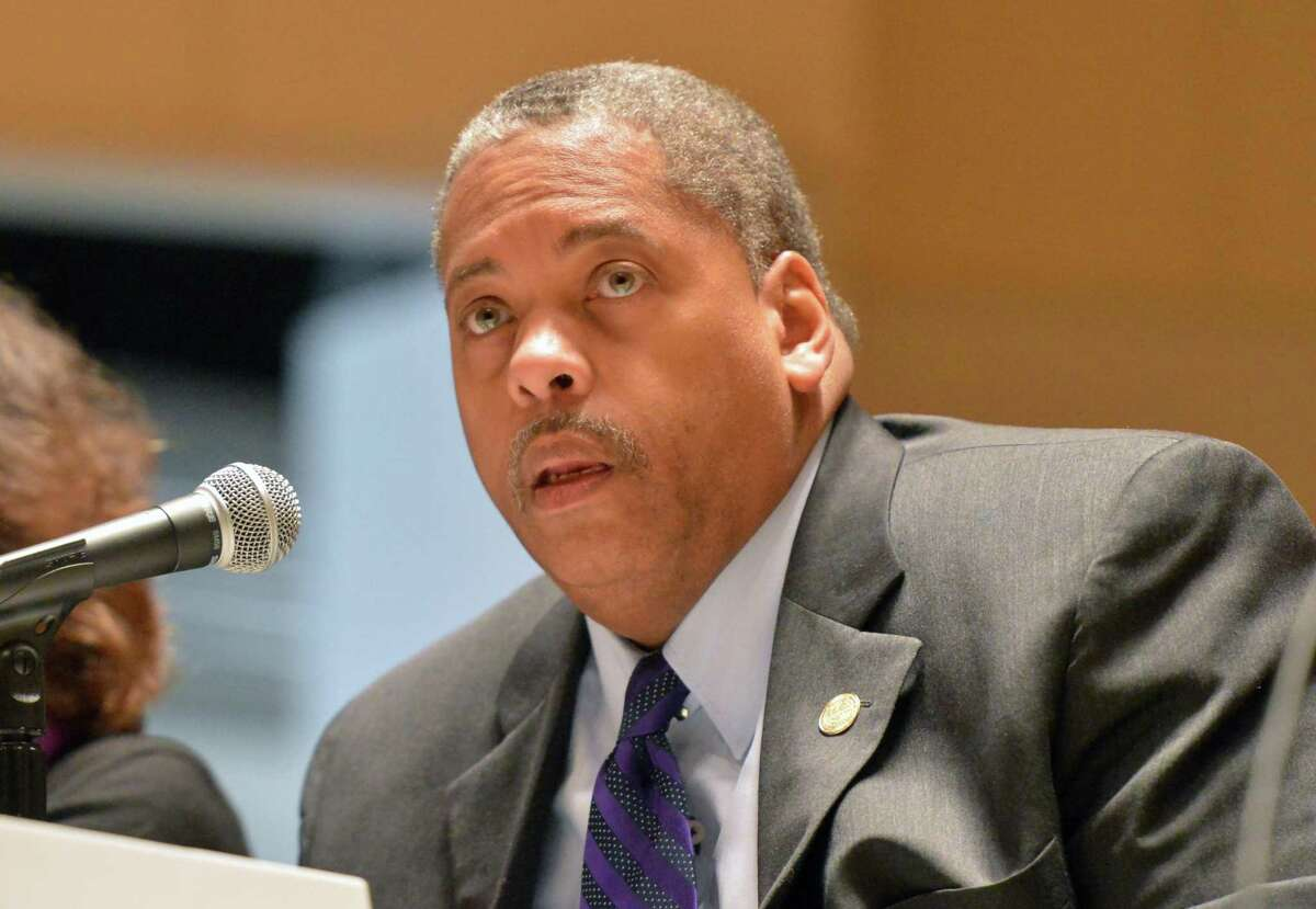 Greg Burnett, Chair of the Common Council Finance/Claims Committee and Norwalk NAACP member.